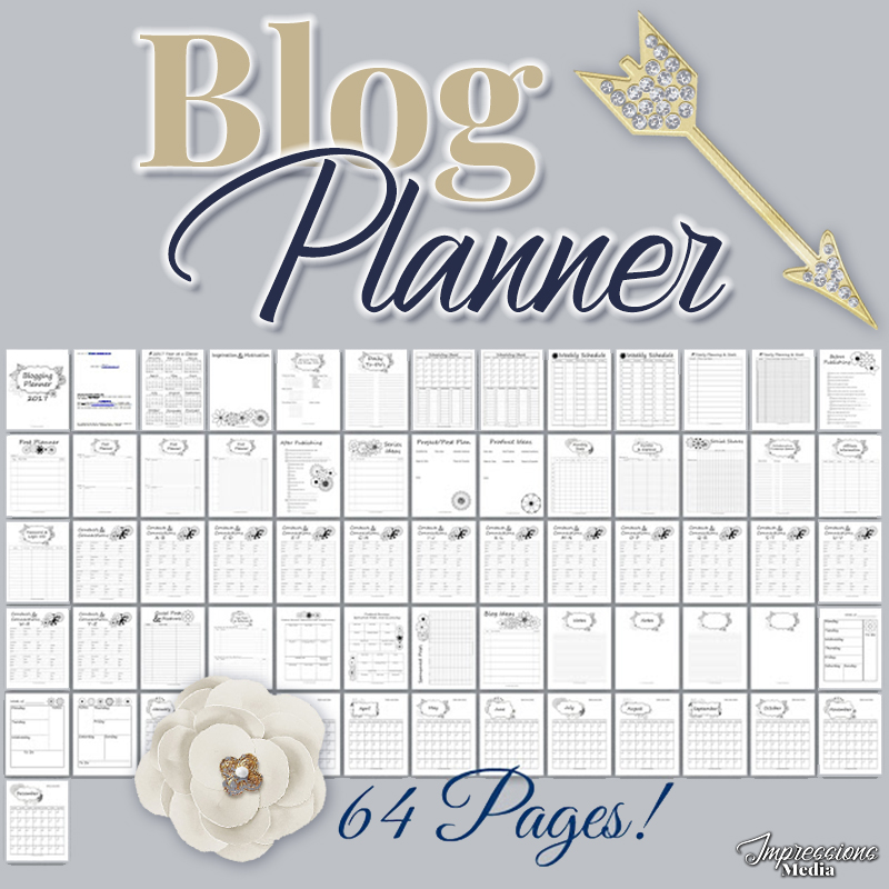 Impressions Media By Deana - perpetual blog planner